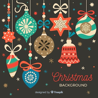 Fondo decorativo navideño