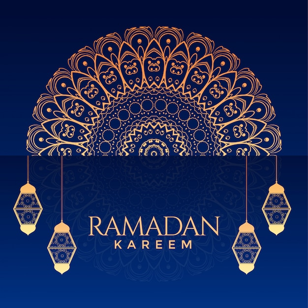 Fondo decorativo ornamental ramadan kareem