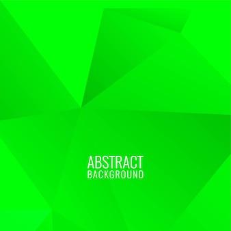 Fondo decorativo polígono geométrico abstracto