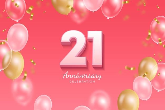 Fondo degradado 21 aniversario