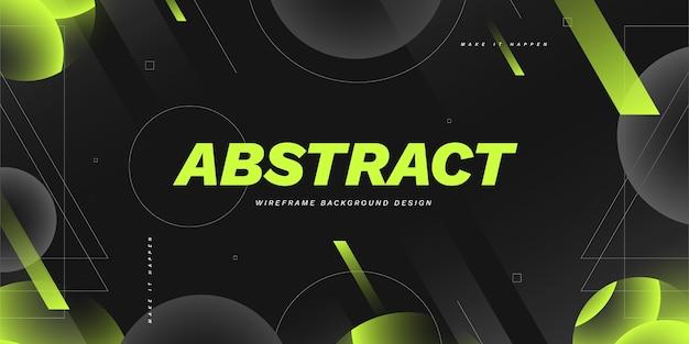 Fondo degradado abstracto de estructura metálica