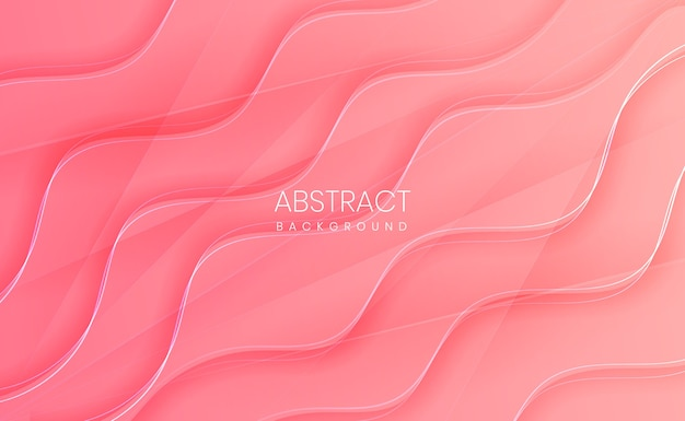 Fondo degradado abstracto rosa claro moderno