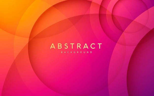 Fondo degradado círculo abstracto
