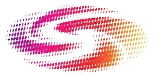 Fondo degradado colorido de semitono abstracto concepto de ecología para su diseño gráfico,