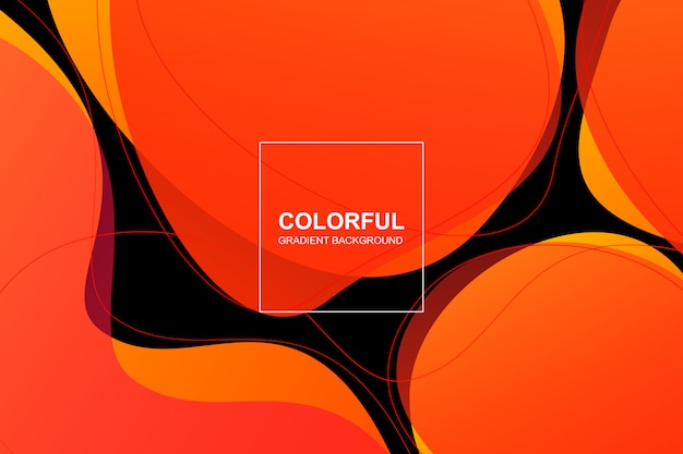 Fondo degradado colorido