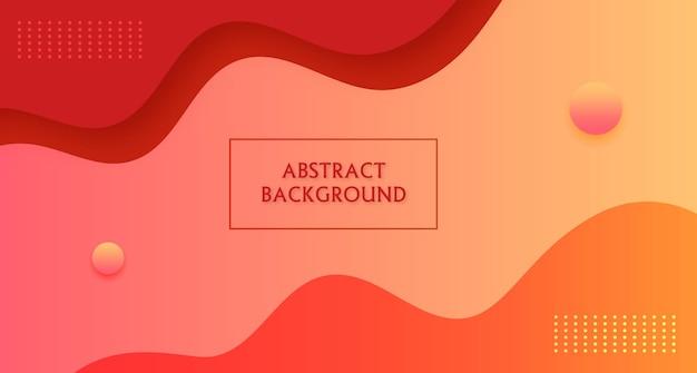 Fondo degradado geométrico moderno abstracto