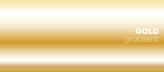 Fondo degradado de oro