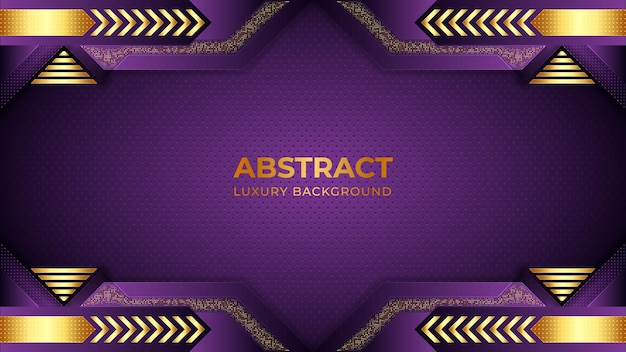 Fondo degradado púrpura minimalista con formas abstractas fondos de lujo