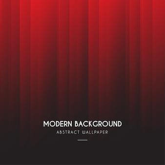 Fondo degradado rojo moderno