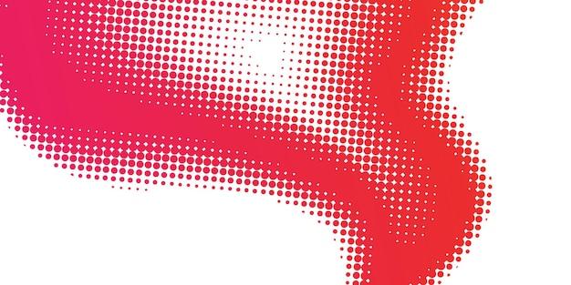 Fondo degradado rojo de semitono abstracto concepto de ecología para su diseño gráfico,