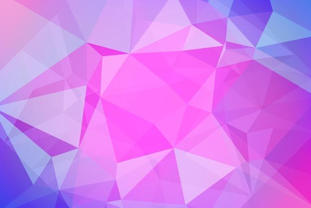 Fondo degradado triángulo horizontal abstracto