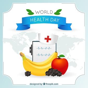Fondo del día mundial de la salud