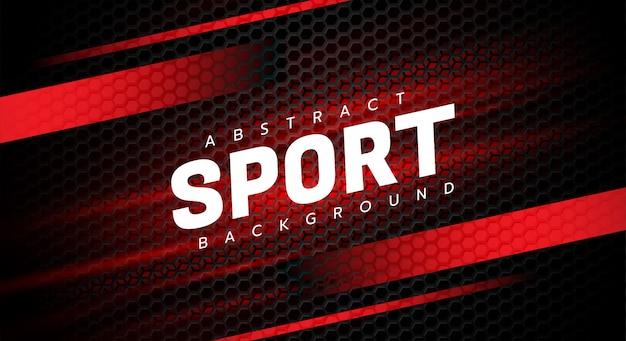 Fondo de deporte abstracto