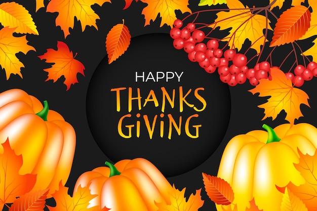 Fondo del día de acción de gracias