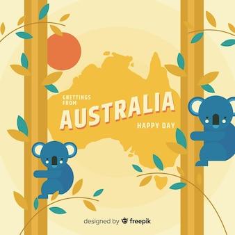 Fondo del día de australia