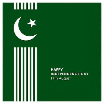Fondo del día de la independencia pakistaní