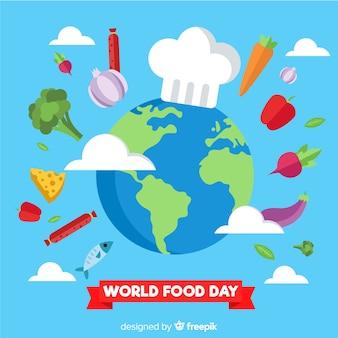 Fondo del día internacional de la comida