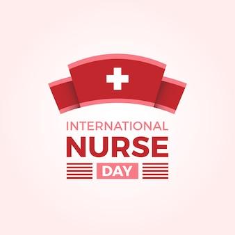 Fondo del día internacional del enfermero