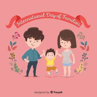 Fondo del día internacional de la familia