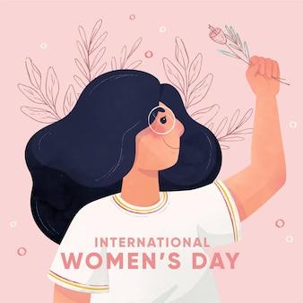 Fondo del día internacional de la mujer