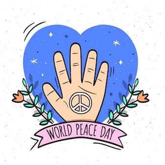 Fondo del día internacional de la paz