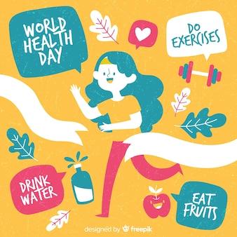 Fondo del día internacional de la salud