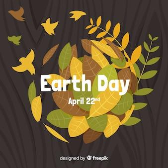 Fondo del día de la madre tierra