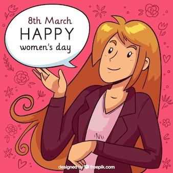 Fondo para el día de mujeres