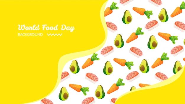 Fondo del día mundial de la alimentación