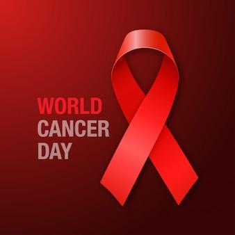 Fondo del día mundial del cáncer
