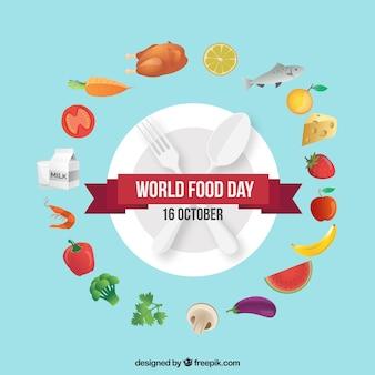Fondo del día mundial de la comida