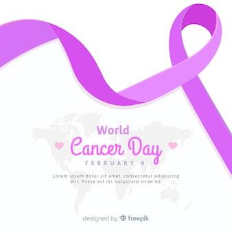 Fondo día mundial contra el cáncer