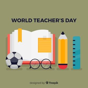 Fondo de día mundial del maestro
