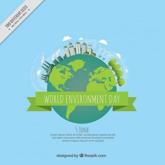 Fondo del día mundial del medio ambiente