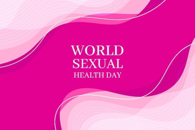 Fondo del día mundial de la salud sexual