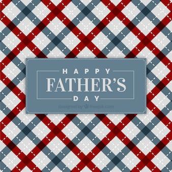 Fondo de día del padre con patrón de líneas