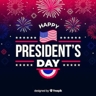Fondo del día del presidente