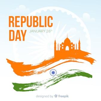 Fondo del día de la república de india
