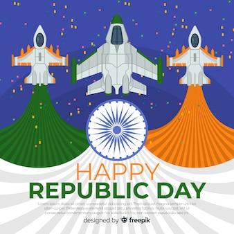 Fondo para el día de la república de la india