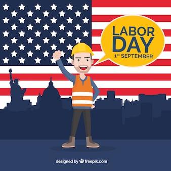 Fondo del día del trabajador