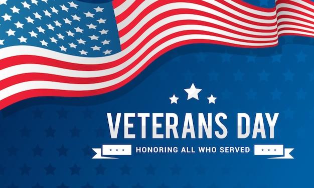 Fondo del día de los veteranos