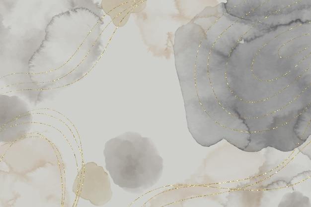 Fondo dibujado a mano acuarela abstracta