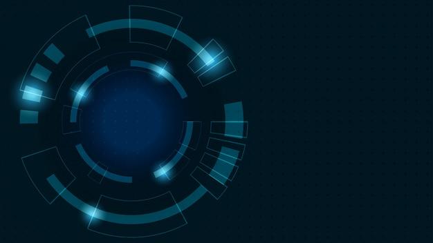 Fondo digital abstracto. transformación del crecimiento empresarial a tecnología financiera digital y exitosa.