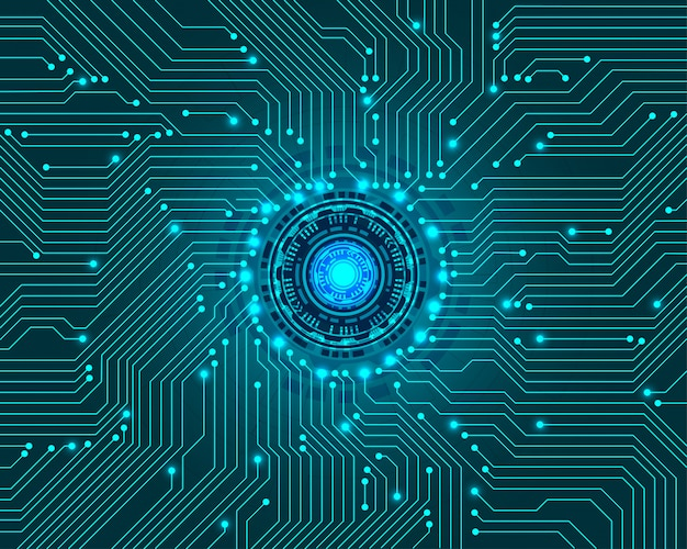 Fondo digital de tecnología abstracta