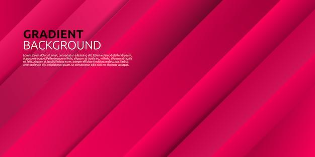 Fondo dinámico abstracto colorido forma geométrica