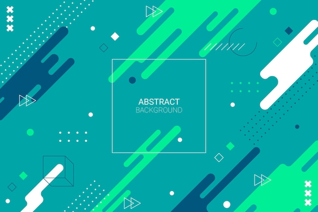 Fondo dinámico abstracto geométrico