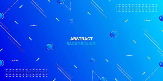 Fondo dinámico formas geométricas abstractas