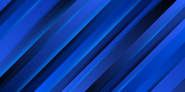 Fondo dinámico de rayas azules