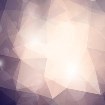 Fondo de diseño abstracto con triángulos y colores sutiles