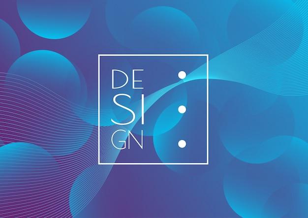 Fondo de diseño creativo abstracto